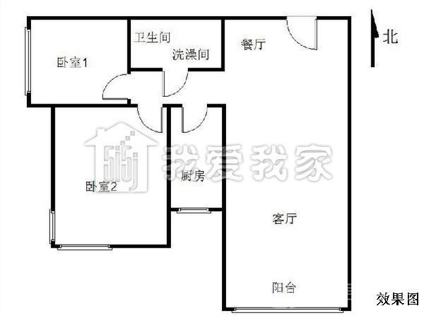 紫芳园四区 二手房 94.72平米 900万