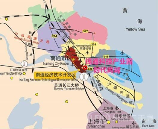 南通时代尚城 南通开发区 锡通科技产业园区 *潜力大