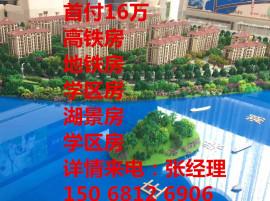 嘉兴低首付高品质洋房+首付16万+近高铁站+自带2万方商业体+双公园