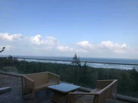 文昌月亮湾,一线海景独栋别墅,18公里黄金海岸线,私家泳池一线天